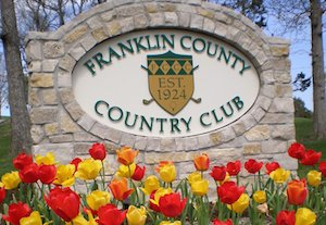 Franklin County Country Club Sign